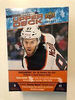 2020-21 Upper Deck NHL Series 1 Mega Box IN HAND Alexis Lafreniere Young Guns?