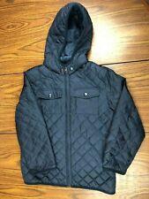 GYMBOREE Boys Youth Size M 7-8 Dark Blue Nylon & Polyester Puffer Jacket Medium
