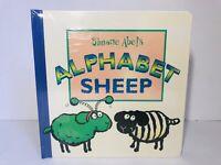 Simone Abel's Alphabet Sheep Vintage 1998 RARE Pop Up Book SEALED 1st Ed NEW!