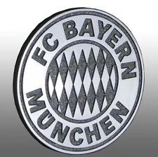 Chromlogo 3d FC Bayern München