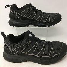 Salomon X Ultra 3 Sneakers Lace Up Trail Hiking Shoes Mesh Black Mens 11 371663