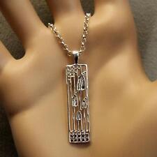 sterling silver new Scottish Charles Rennie Mackintosh pendant & chain