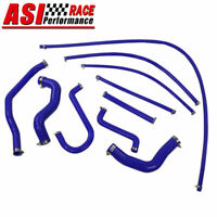 Blue Silicone Radiator Hose Pipe kits For FORD FALCON EF-EL 6CYL 4.0L ,ASI