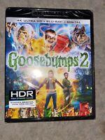 Goosebumps 2 (4K Ultra HD + Blu-ray + Digital) New + NO slipcover
