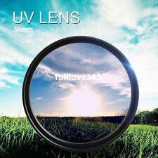 58mm UV Ultra-Violet Haze Dslr Camera Lens Filter Lens Protector VW