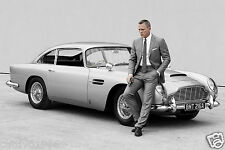 SKYFALL JAMES BOND DANIEL CRAIG ASTON MARTIN 007 PHOTO