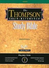 Thompson Chain-Reference Study Bible-KJV-Large Print