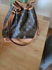 Louis Vuitton Sac Noe Schultertasche,  Beuteltasche, Tasche,  Patina, Vintage