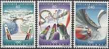 Timbres Sports d'hiver JO Liechtenstein 1017/9 ** année 1993 lot 8178