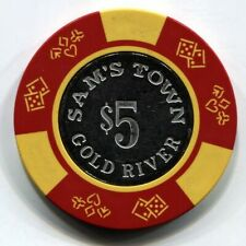 New listing $5 Sam'S Town Gold River Laughlin, Nv. Casino Chip