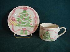 Sango Home For Christmas 4829 Cup and Saucer Set(s)