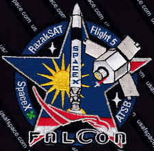FALCON SpaceX RazakSAT Flight 5 ATSB ORIGINAL SPACE PATCH MINT *****