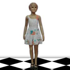 Markenlose 110 Mädchenkleider Größe für die Freizeit