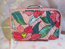 VERA BRADLEY Blush and Brush Makeup Case Bag VINTAGE FLORAL FREE SHIP