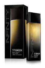 New! Titanium Infinity Men Cologne EDT Perfume 100ml spray 3.5 OZ