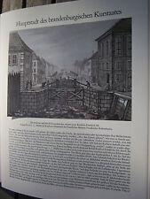 Berlin Archiv 2 Kurstaat Brandenburg 2034 Schleuse und Schleusenbrücke Kurfürst