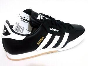 Adidas Samba Super Mens Shoes Trainers Uk Size 7 - 12    019099  Black Leather