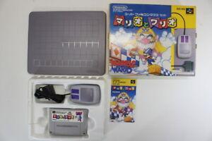 Mario & Wario Boxed Mouse SFC Nintendo Super Famicom SNES Japan Import I7345