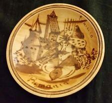 Vlad The Impaler Dracula Castle Romania Souvenir Wood Wall Art Plate
