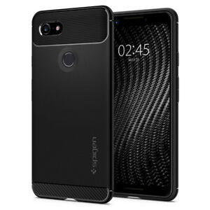 Pixel 3 / Pixel 3 XL Case | Spigen®[Rugged Armor] Hybrid Shockproof Slim Cover