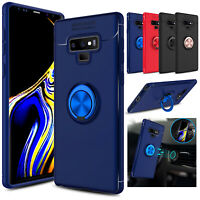 For Samsung Galaxy Note 9 Shockproof Phone Case Cover With Ring Kickstand Holder