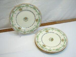 "4 Royal Doulton The Ormonde 10"" Dinner Plates Fine China"