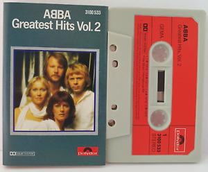 ABBA greatest Hits Vol.2 MC Kassette polydor 3100 533