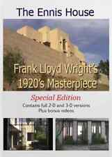 """Frank Lloyd Wright documentary """"The Ennis House"""" Dvd in 2D and 3D"""