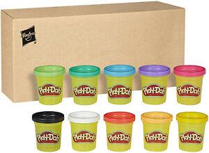 Play-Doh – 10 Pots de Pate A Modeler de Couleurs - 56 g chacun