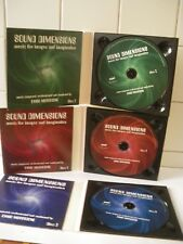 Sound Dimensions 3CD Music for images and ima. - 3 CD - ENNIO MORRICONE  - (MRC)