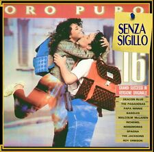 "COMPILATION "" ORO PURO "" LP NUOVO 1989 CBS  ITALY"