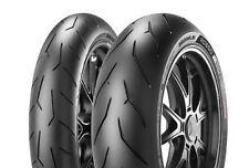 01 coppia gomme moto Pirelli Diablo Rosso corsa 120/70 zr 17  W+ 180/55 zr 17 W