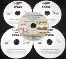 DVD+FREE 4 Hovind Earth & Space Home School Set NEW
