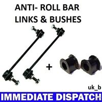 FORD TRANSIT CONNECT Front ARB Anti Roll Bar Sway bar Bushes & Links (4)