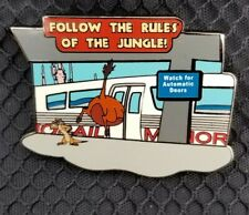 Disney DLR - Wild about Safety #8 - Follow the Rules of the Jungle Pin