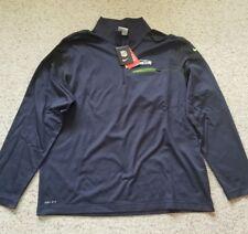 New Seattle Seahawks Nike Elite Coach Half-Zip Performance Jacket Sz XL $85