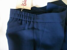 KALEIDOSCOPE NAVY TAILORED, SIDE ELASTIC  TROUSERS  SIZE 12 BNWT