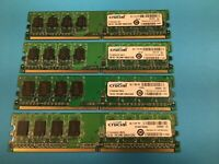 4GB Crucial Memory Kit for Dell Optiplex GX520, GX620, 745, & 755 Computers