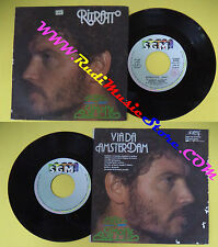 LP 45 7'' FRANCO SIMONE Ritratto Via da amsterdam 1985 italy ERRORE no cd mc dvd