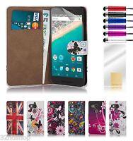 32nd Design Book Wallet PU Leather Flip Case Cover For Google Nexus Phones