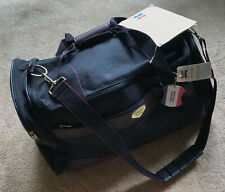 American Tourister Black Canvas Duffel Bag Luggage - Windmere II Collection 5324