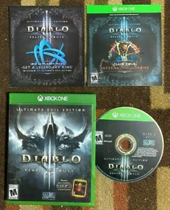 Diablo III Reaper of Souls Ultimate Evil Edition (Microsof Xbox One) VG Shape