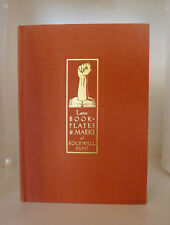 Signed Limited Edition LATER BOOKPLATES & MARKS OF ROCKWELL KENT