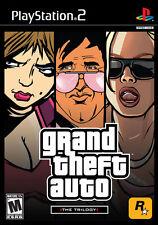 Grand Theft Auto Trilogy [Playstation 2 ps2 Vice City San Andreas GTA III] NEU