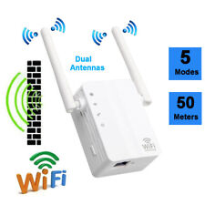 300Mbps Wireless-N Range Extender WiFi Repeater Signal Booster Network Router UK