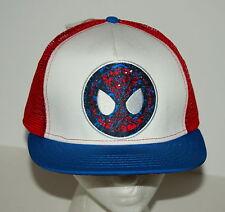 Marvel Comics Amazing Spider-Man Trucker Cap Hat New Tags Snapback Mesh OSFA