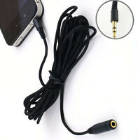 3M 10ft 3.5mm Audio Stereo Headphone Male to Female M/F Extension Cable Cord NEW