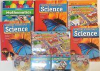 Grade 1 Curriculum Student Teacher Edition Bundle 1st Homeschool 4 Subjects
