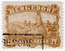 (I.B) Germany Local Post : Bergedorf 15pf (Rabbits)