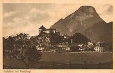 Kufstein,Austria,Town,Pendling in Background,Tirol,Used,3 Austrian Stamps,1924